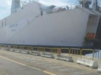 Ferry Giuseppe Sa caught fire off Italy