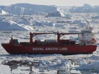 Container ship Mary Arctica damaged after hitting an iceberg off Greenland