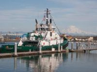 Foss Christens Third and Final Arctic-Class Tugs