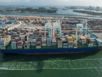 Spotted: PortMiami Welcomes Largest Boxship to Call Florida