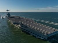 U.S. Navy's New $13 Billion Aircraft Carrier Struggles to Fly and Land Planes