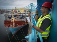 Spotted: Madrid Maersk Calls APM Terminals Rotterdam