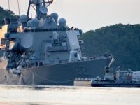 "Five Of Seven Crew Members Of American Destroyer USS ""Fitzgerald"" Instantly died."