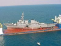 Navy to Transport USS Fitzgerald by Heavy Lift Ship