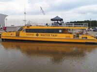 Metal Shark launches water taxis for Potomac Riverboat Co.