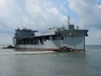 U.S. Navy Turns Civilian-Operated USNS Lewis B. Puller Into Commissioned Warship