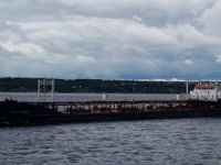 Tanker aground on Volga-Don Canal