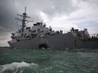 Ten Missing After U.S. Warship Collides with Tanker Near Singapore