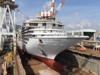 Fincantieri Launches New Cruise Ship for Seabourn