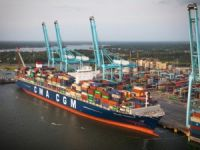 First Ultra-Large Containership Visits U.S. East Coast Ports