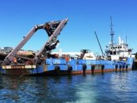 """Sea Hunter"" 240 ft Salvage Ship For Sale by Marshall's Auction"