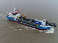 Damen-built dredge makes debut in Australia