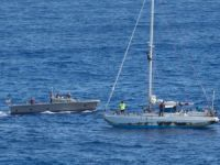 USS Ashland Rescues Two Sailors in Western Pacific