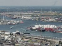 Antwerp Port Focus on Container Barge Handling