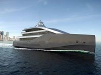 Rolls-Royce unveils an LNG-fueled superyacht concept