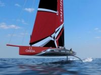 Radical New Single-Hulled, Foiling America's Cup Concept Boat Unveiled