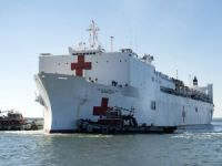 Navy hospital ship returns from Puerto Rico