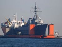 USS Fitzgerald Returns to Base with New Damage from Heavy Lift
