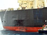 Tanker was a target of attack