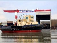 Vittoria Shipyard launches ASD tug for Algerian customer