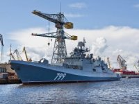 Russian Navy Gets Admiral Makarov Frigate