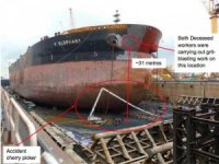 Singapore shipyard fined for maintenance failure that led to two deaths