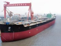 China Rolls-out World's Second-Largest Ore Carrier