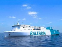 Baleària reports progress on LNG fueled smart ferry duo