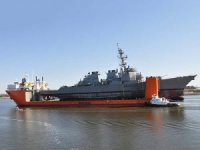 USS Fitzgerald arrives in Pascagoula to start repairs