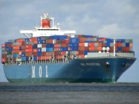 Containership MOL Prestige Adrift Off British Columbia After Fire; Two Crew Medevaced