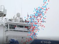 Sovcomflot's New Icebreaking Support Vessel Named after Yevgeny Primakov