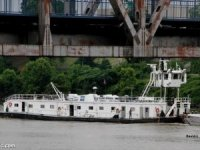 Towboat Fire on Lower Mississippi Forces Crew to Abandon Ship