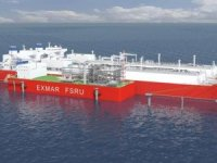 Exmar Barge-Based FSRU on Way to Singapore
