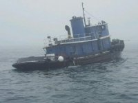 Seventy-four year old tugboat sinks under tow