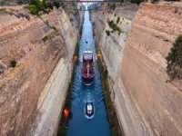 Famously Skinny Corinth Canal Shut Due to Rockfall