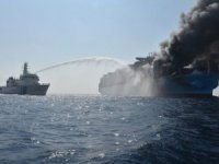 First Photos Show Fire on Maersk Ship | Hope Fading for Missing Crew Members, Maersk Says