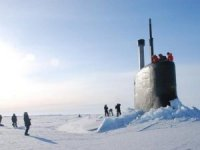 US Navy Begins Exercise Under the Ice in Alaska