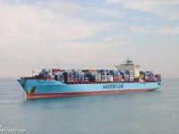 Container Fire Reported On U.S.-Flagged Maersk Kensington in Gulf of Aden