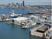 Navy repair contracts for Vigor, Detyens Shipyards