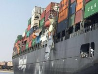 Big Mess at Port of Karachi After Container Ship Sideswipes Moored Vessel