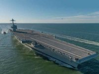 Navy eyes block buy of two Ford class aircraft carriers