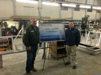 Keel laid for first hybrid cargo vessel in U.S.
