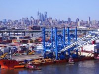 Port of Philadelphia Delivered Its First Super Post-Panamax Cranes