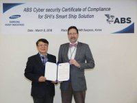 Samsung's Smart Ship Solution Obtains ABS Cyber Approval