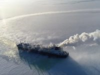 MOL ARC7 icebreaking LNG carrier goes to work at Yamal