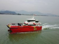 Cheo Lee Shipyards completes sea trials of 27 m crew transfer vesserl
