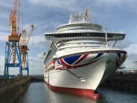 P&O Cruises Ventura completes two week docking at Damen Brest