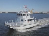 TAI delivers another foil assisted survey vessel to USACE