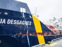 World's First Polar-class Dual-fuel Oil/Chemical Tanker Christened by Desgagnés