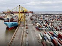 Vistula Maersk Calls St. Petersburg, First in Series of New Ice-class Vessels